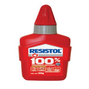 RESISTOL 100% PEGAMENTO 80G