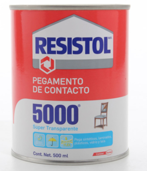 RESISTOL 5000 TRANSPARENTE 500ML