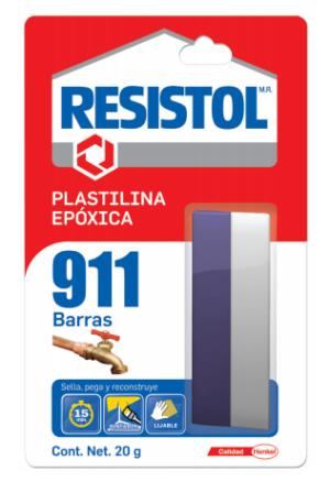 RESISTOL 911 BARRAS 20G