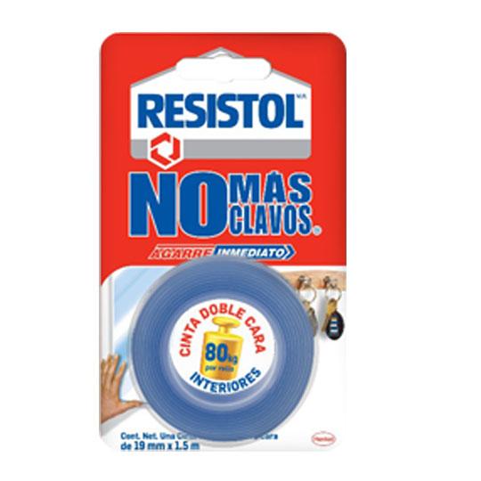 Resistol cinta no mas clavos 19x15m azul ferrekasa mexico - No mas clavos ...