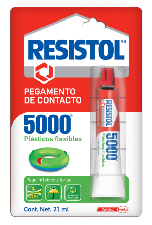 RESISTOL PLASTICOS FLEXIBLES 5000 FLEXIBLES 21ML