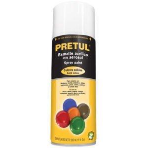 pintura en aerosol transparente marca pretul