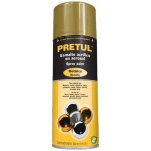 pintura en aerosol metalica oro