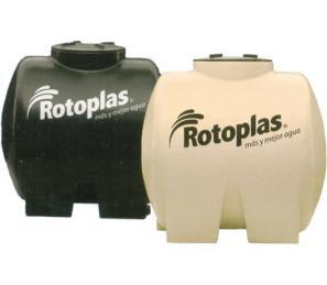Rotoplas Tinaco Tricapa 1100lt Horizontal Ferrekasa