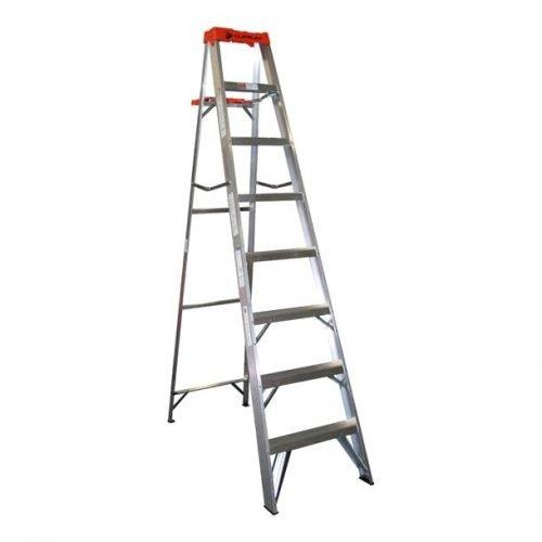 Escalera De Tijera De Aluminio 7 Peldaños CUPRUM