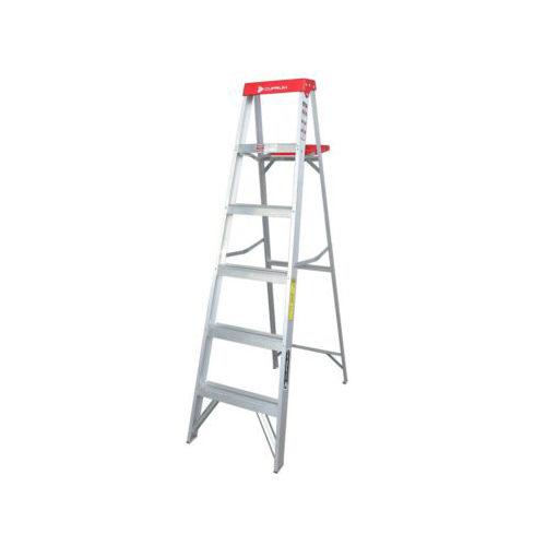 Escalera De Tijera De Aluminio 5 Peldaños