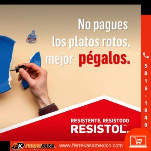 RESISTOL -FERRETERIA